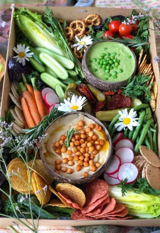 dips veggies